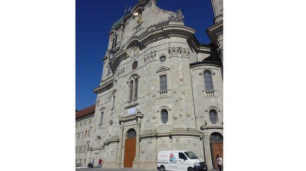 Geschützt: Transport für das Kloster Einsiedeln