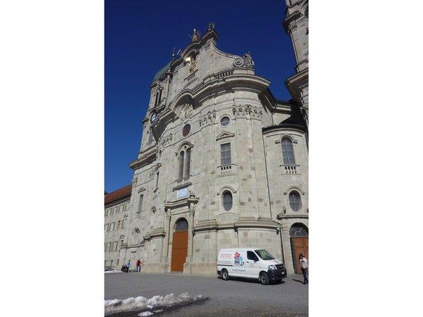 Transport für das Kloster Einsiedeln